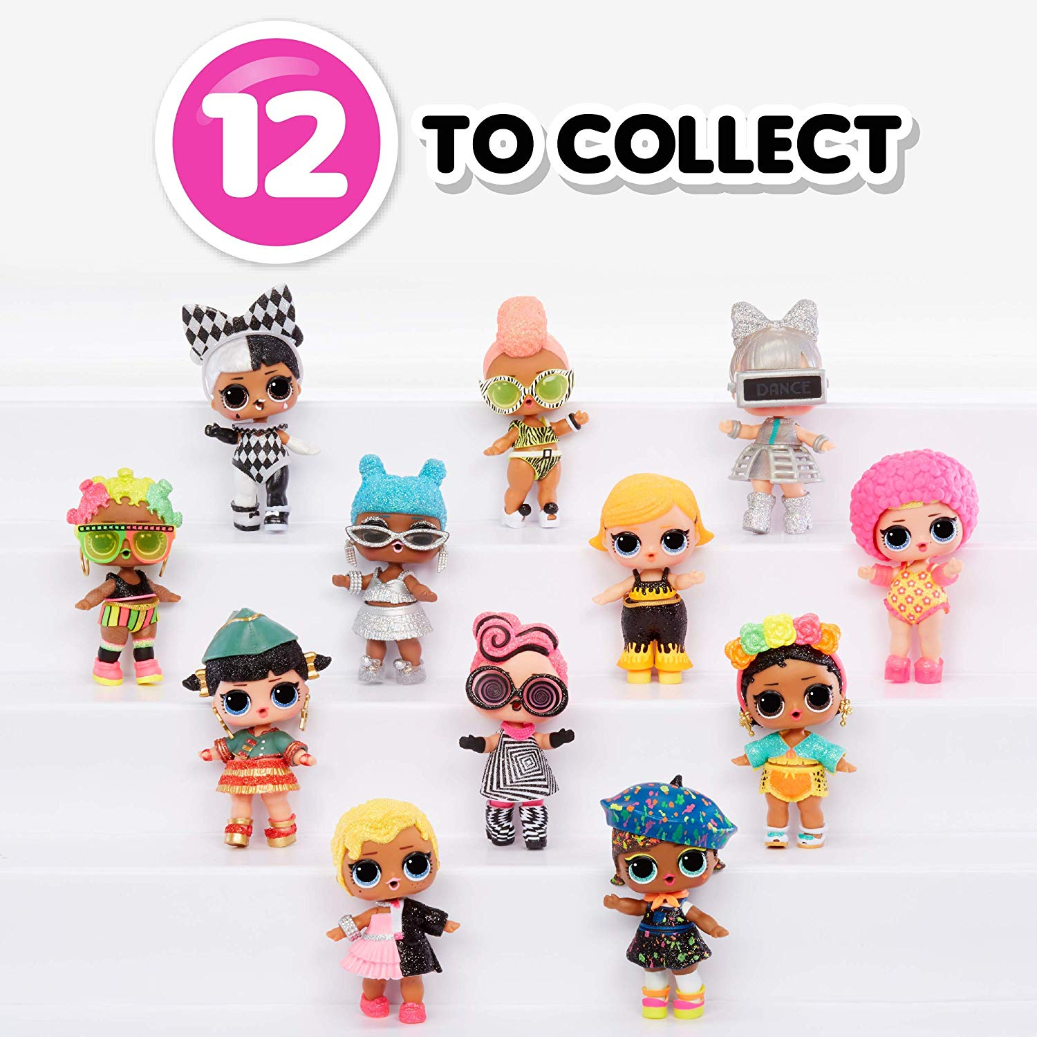 L.O.L. Surprise! Lights Glitter Doll 12 doll to collect