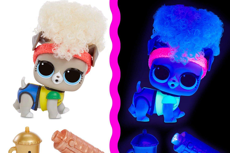 L.O.L. Surprise! Lights Pets with Real Hair & 9 Surprises Including Black Light Surprises pre-order now