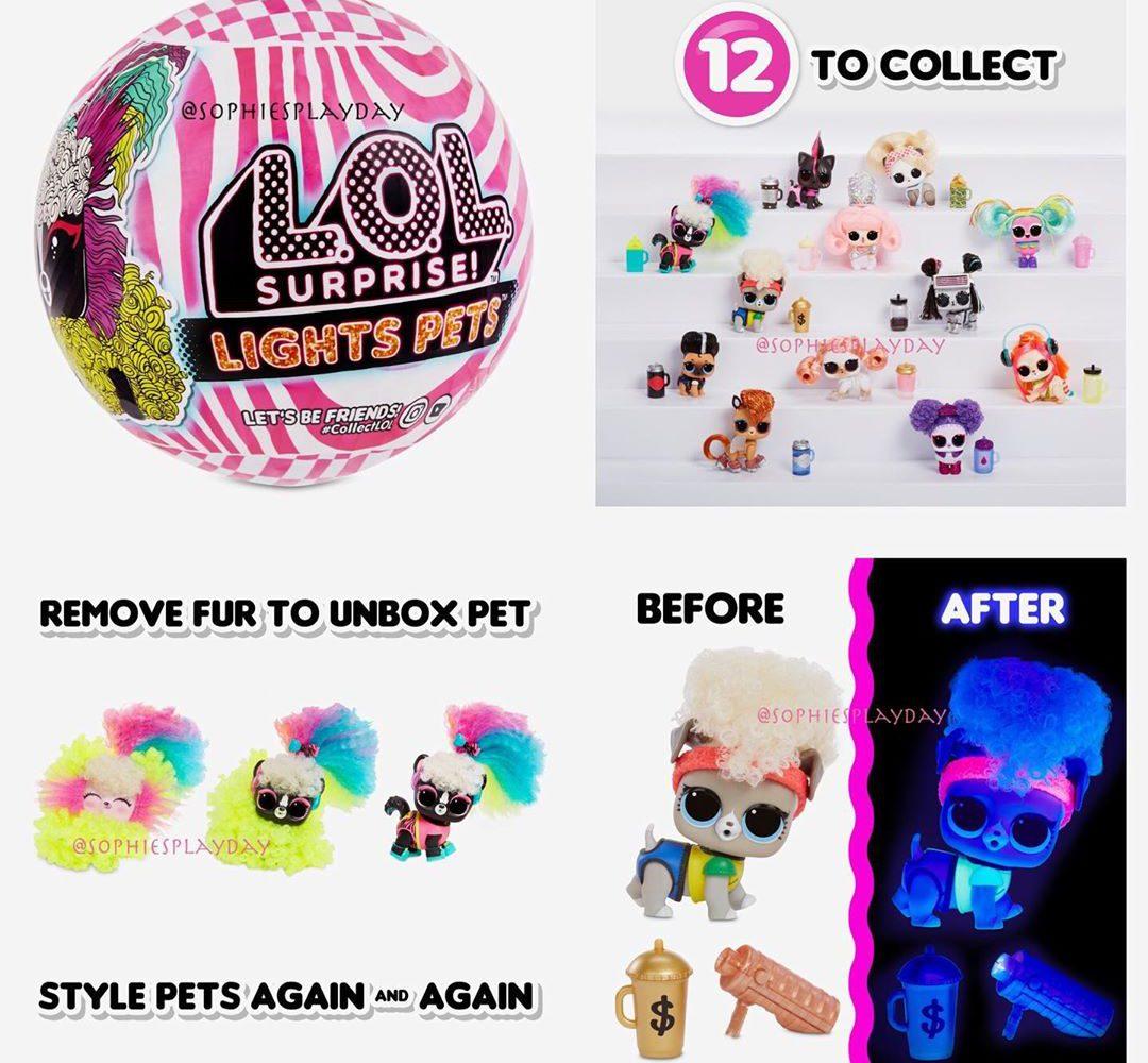 LOL Surprise Lights Pets release date