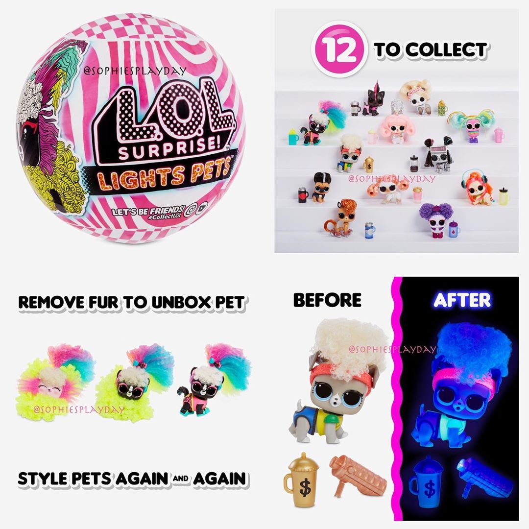 Mga Announced Lol Surprise Lights Glitter And Lights Pets Top
