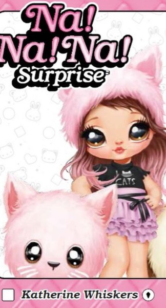 Na Na Na Surprise series 2 Pink kitty Katherine Whiskers