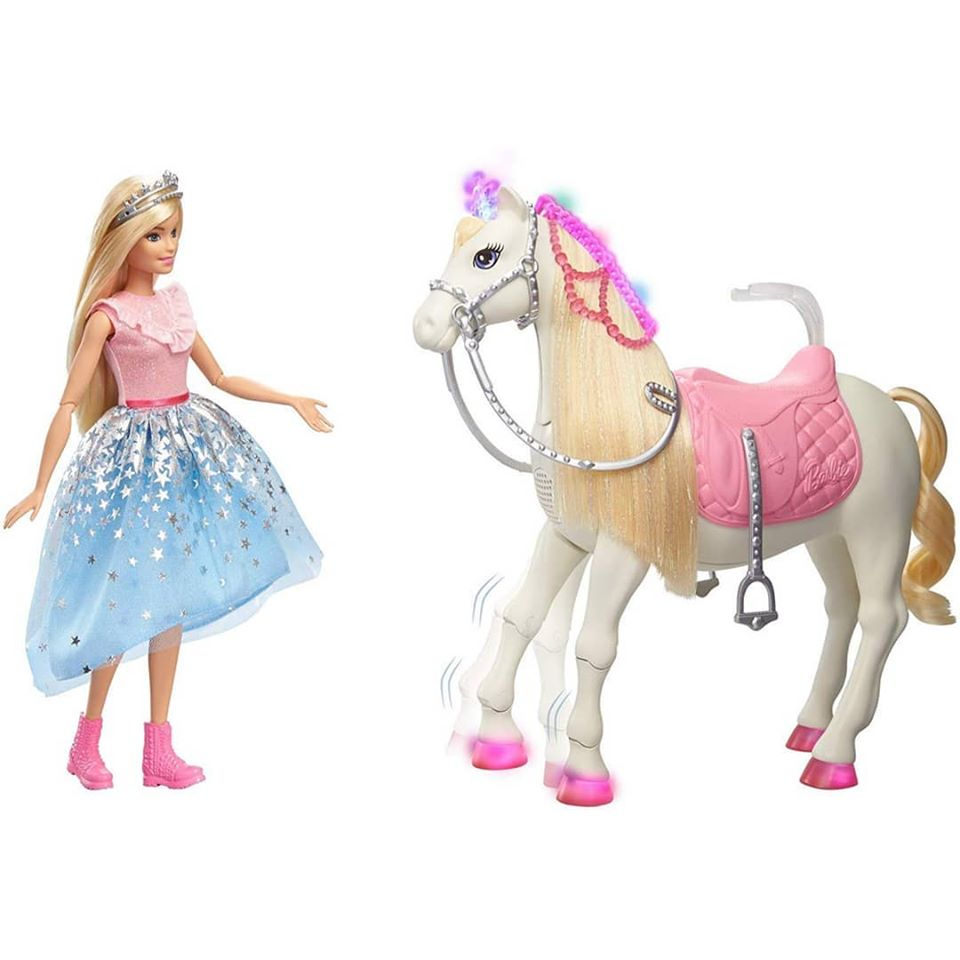 Barbie Modern Princess with Shimmer Horse Price