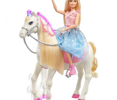 Barbie Modern Princess with Shimmer Horse.