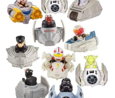 Star Wars Hot Wheels Battle Rollers 15 cars to collects