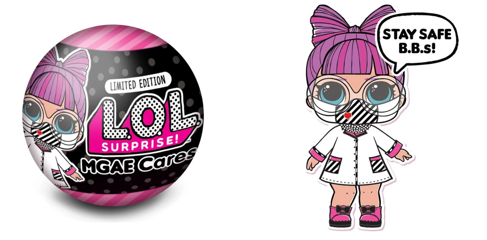 Lol Surprise Mgae Cares Frontline Doll Limited Edition Where To
