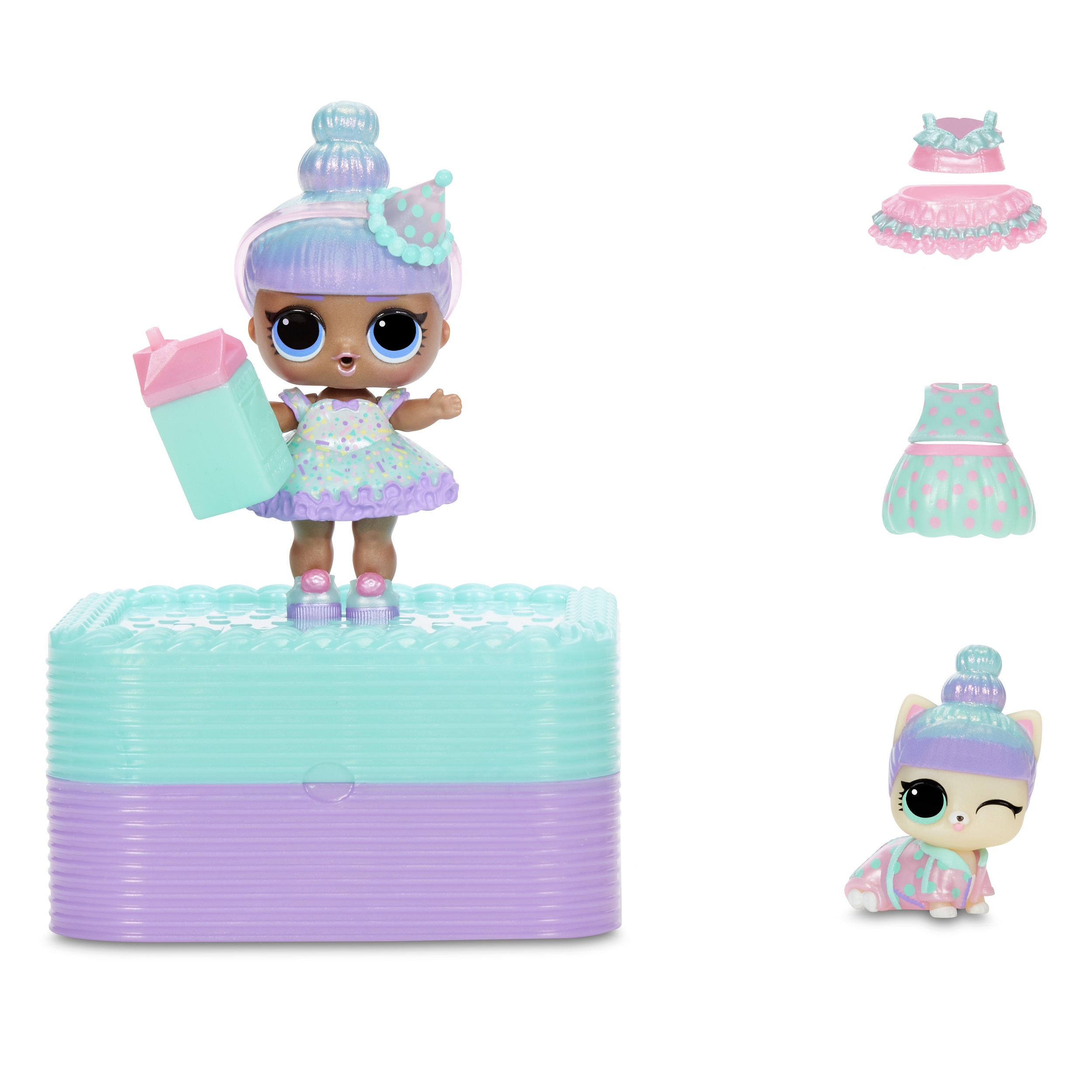 L.O.L. Surprise Deluxe Present Sprinkles Doll