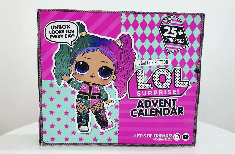 LOL Surprise Advent Calendar 2020 Outfit of The Day Doll 25 Surprises for sale online