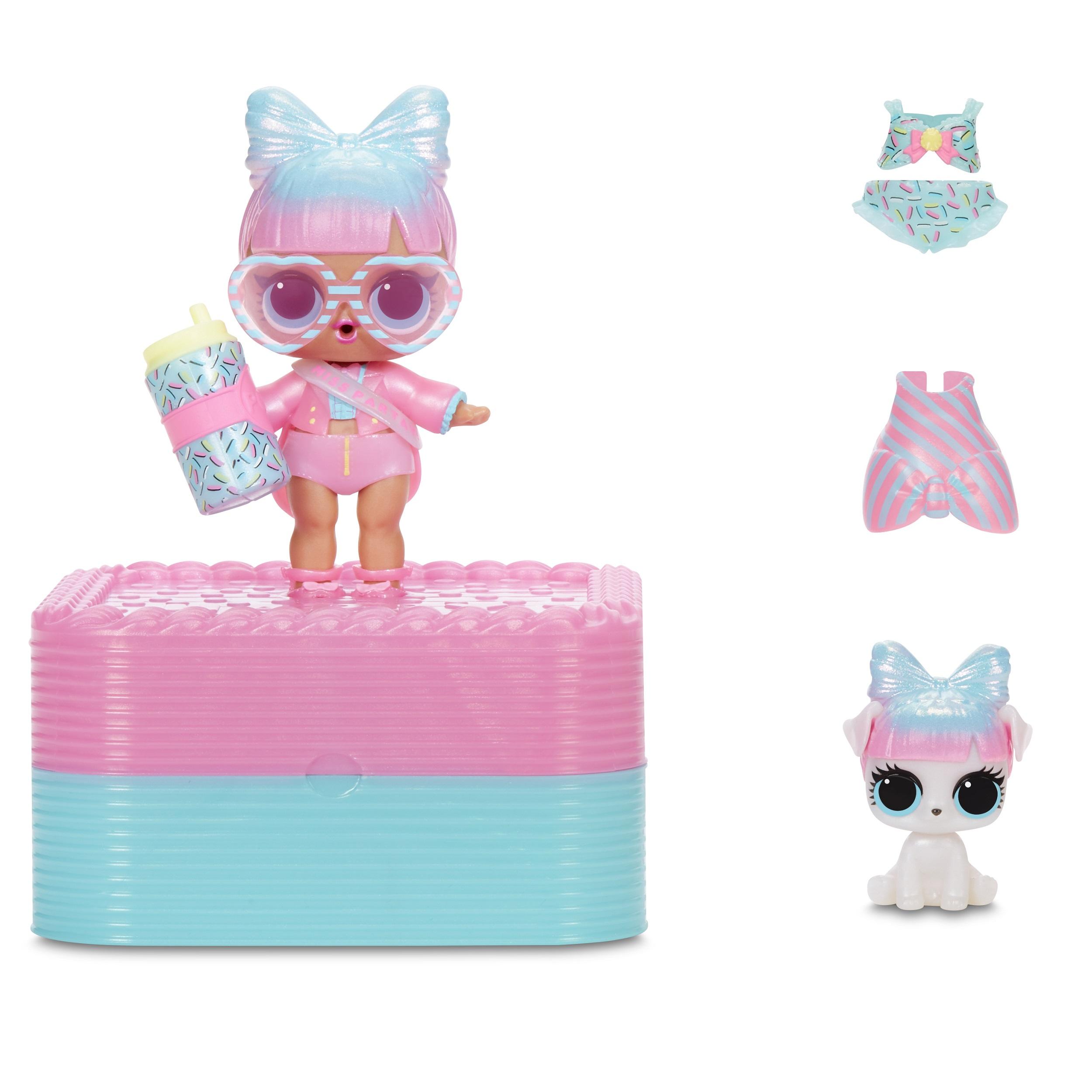 L O L Surprise Deluxe Present Surprise Exclusive Doll Pet