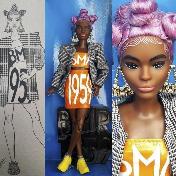 Barbie BMR 1959 - African American, petit