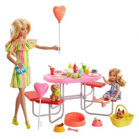Barbie and Chelsea Picnic Playset where to buy