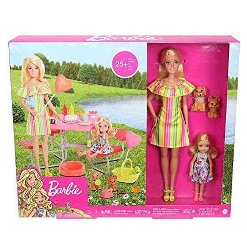 Barbie and Chelsea Picnic Playset