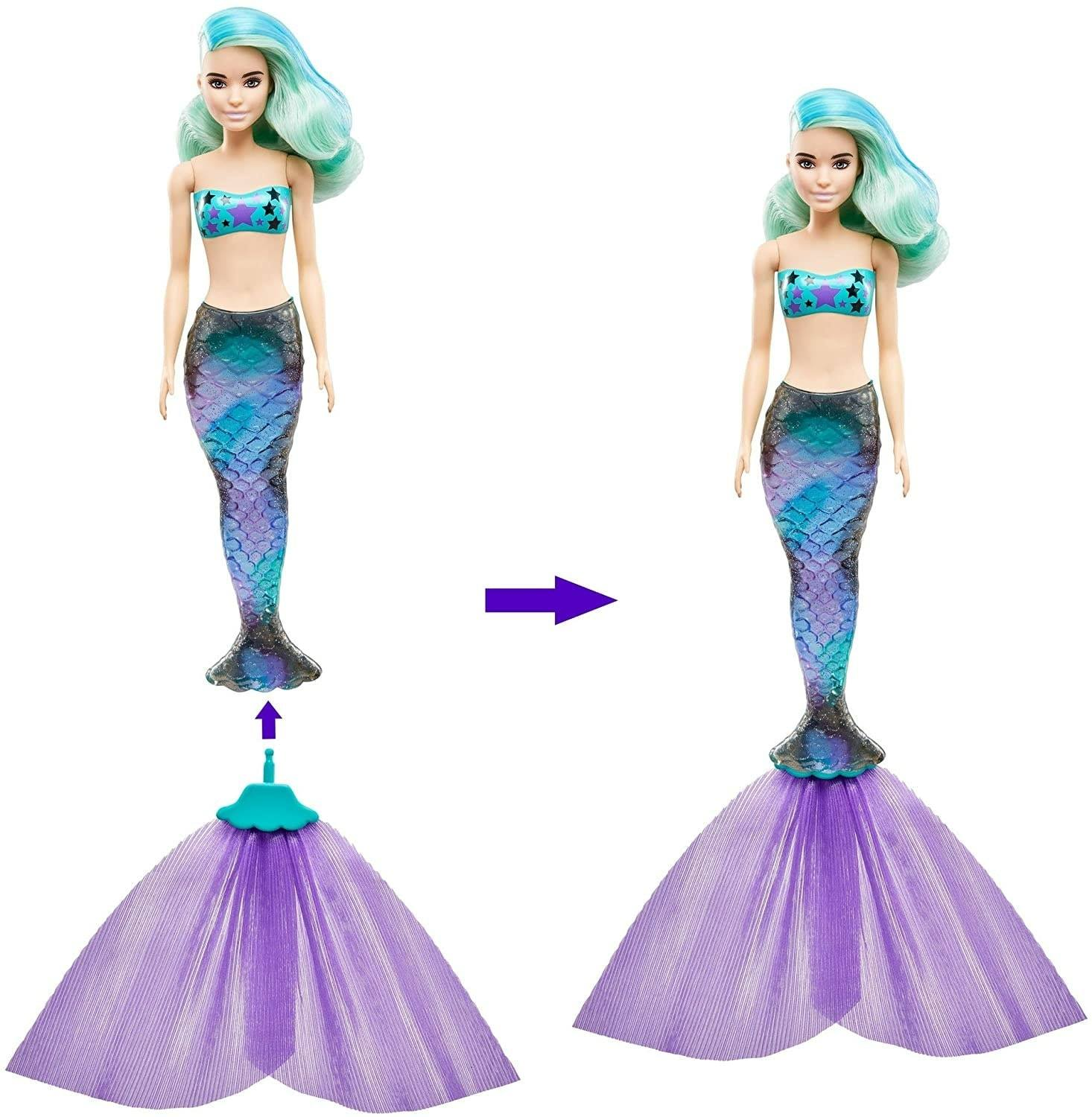 Color Reveal Mermaid Barbie dolls price