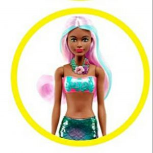 Color Reveal Mermaid Barbie dolls. 1
