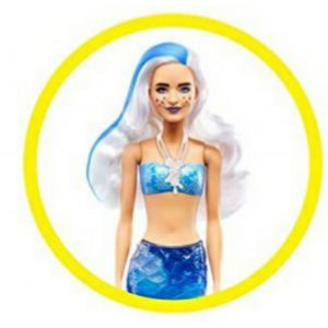 Color Reveal Mermaid Barbie dolls.22