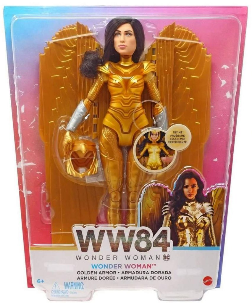 Golden Armor WW84 Where to buy