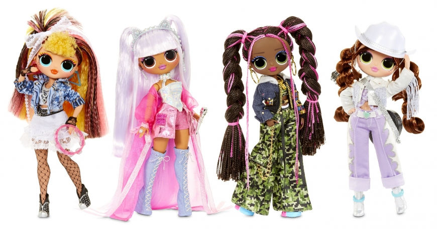 LOL OMG Remix dolls – Kitty K, Lonestar, Pop B.B., Honeylicious
