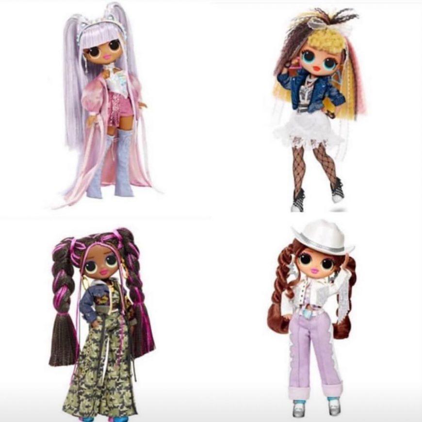 LOL Remix OMG Dolls