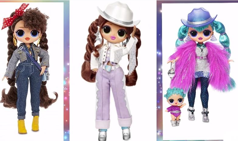 LOL Remix OMG Line Dancer dolls different