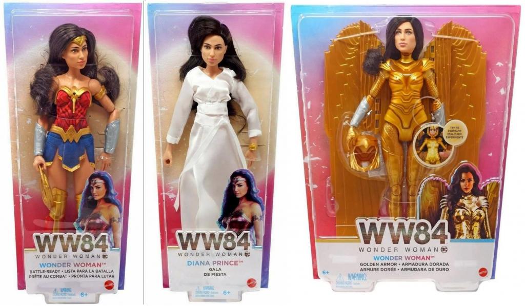 DC Wonder Woman Film 1984 Wonder Woman Doll Bataille Prête