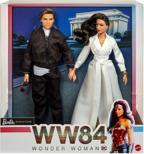 Barbie and Ken WW 84 movie set