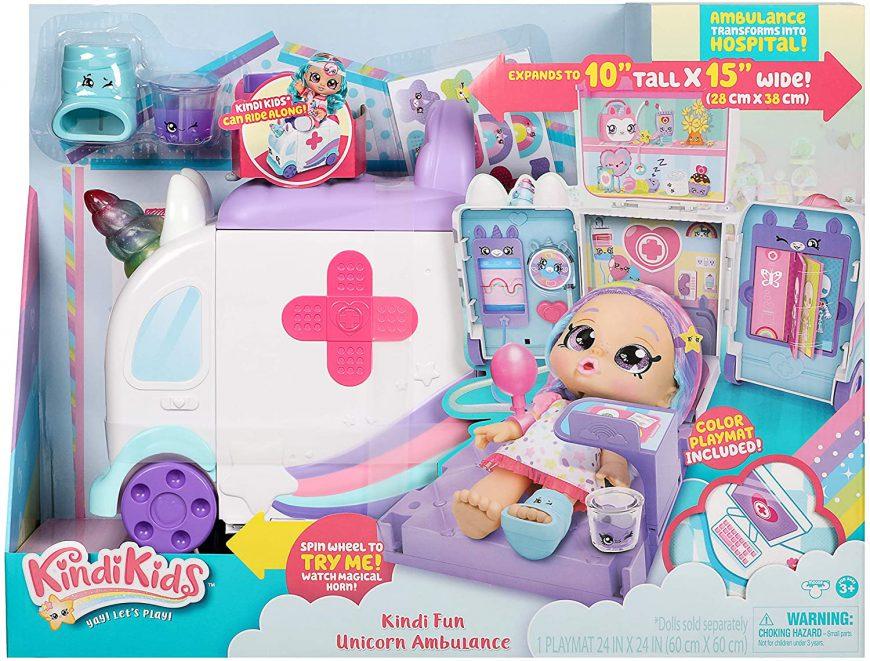 Kindi Kids Ambulance Playset - Kindi Fun Unicorn Ambulance price