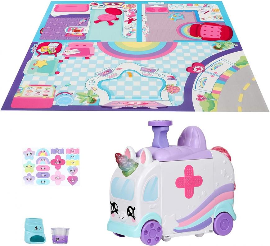 Kindi Kids Ambulance Playset - Kindi Fun Unicorn Ambulance