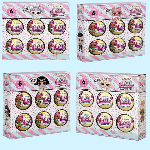 L.O.L. Surprise! 6-Pack Confetti- Style release date