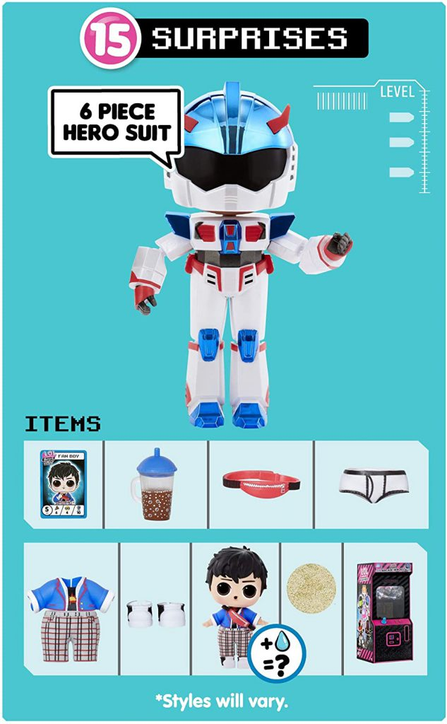 L.O.L. Surprise! Boys Arcade Heroes order doll in USA