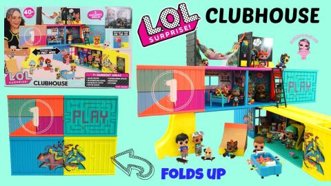 L.O.L. Surprise! Clubhouse - First Unboxing Video