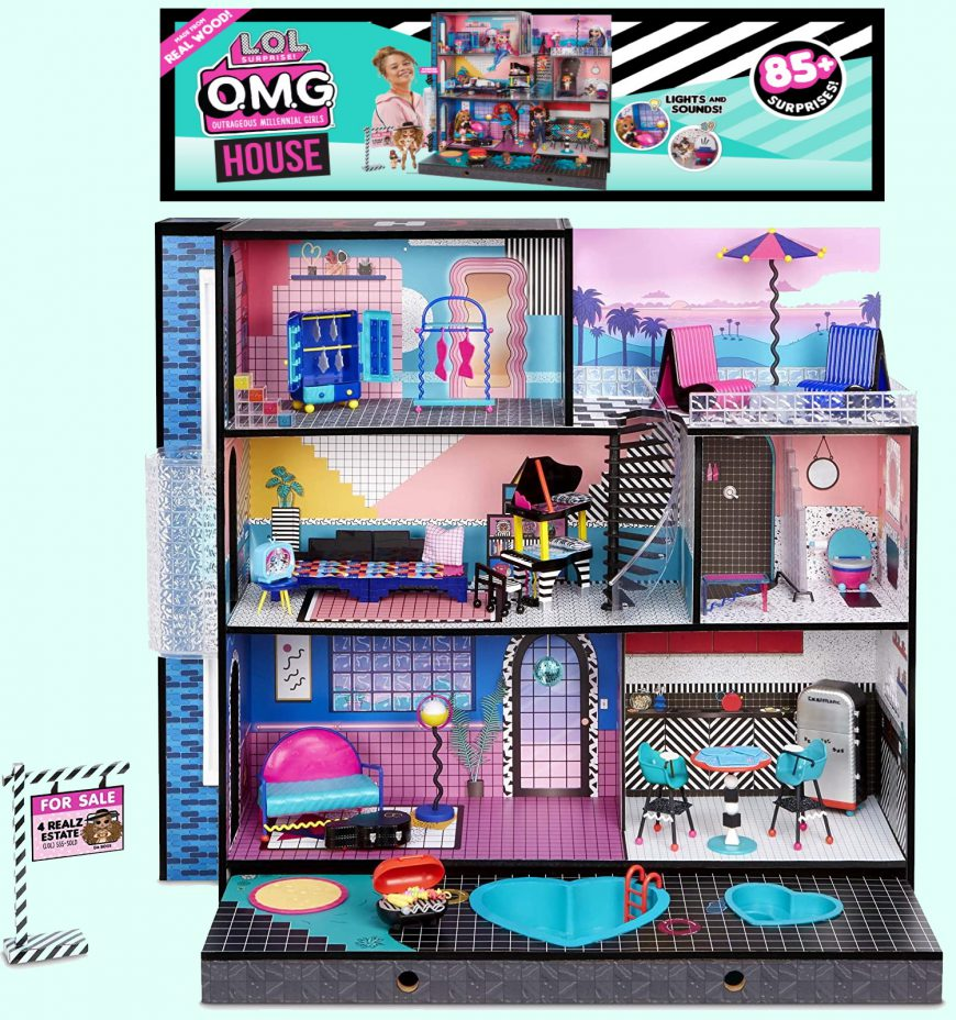 L.O.L. Surprise! O.M.G. House – New Real Wood Doll House preorder