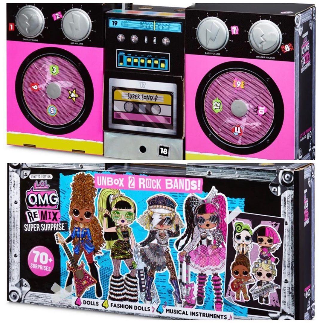 NEW LOL Surprise Doll GOO GOO QUEEN ReMix Opening Act Exclusive Super Sonix