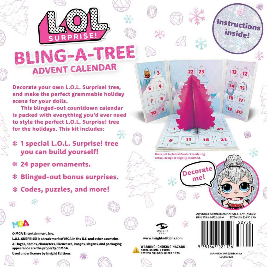 LOL Bling-A-Tree Advent Calendar pre-order now