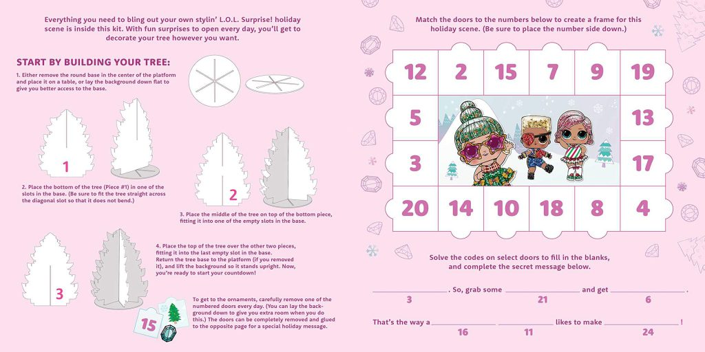 LOL Bling-A-Tree Advent Calendar