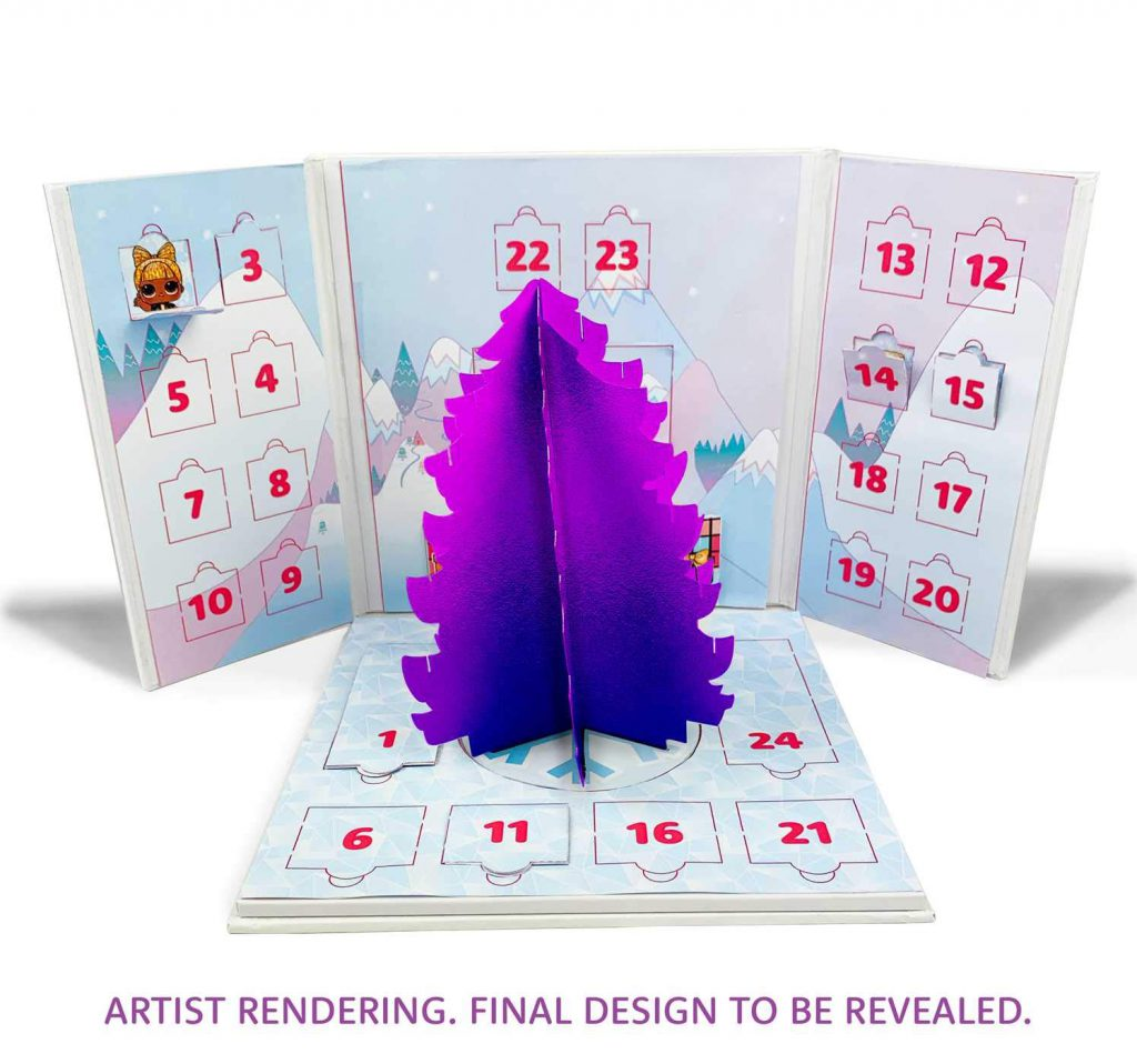LOL Bling-A-Tree Advent Calendar release date