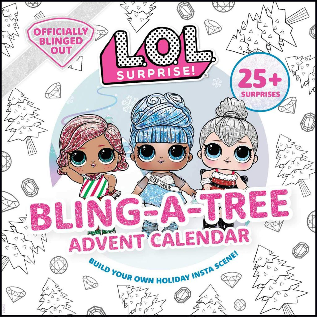 LOL Bling-A-Tree Advent Calendar where to buy