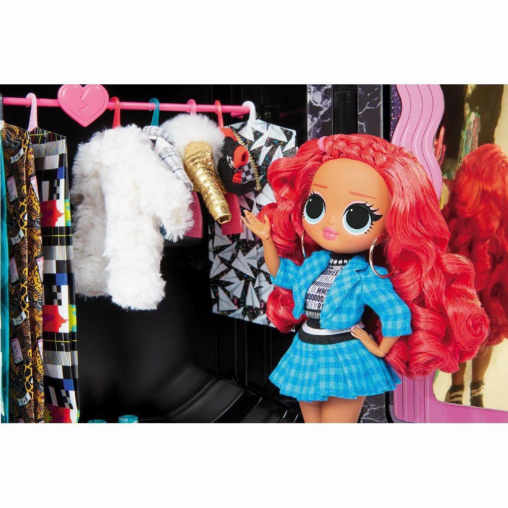LOL OMG Fashion Closet On The Go wardrobe where to buy