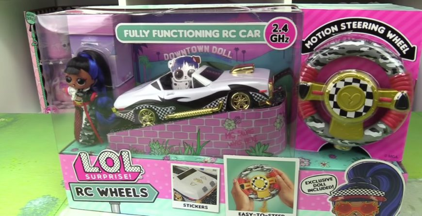 LOL Surprise RC Wheels Car - First Unboxing Video!