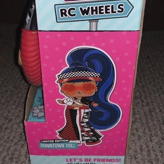 LOL Surprise RC Wheels - remote control car + doll