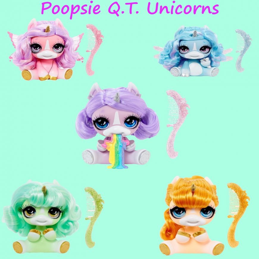 Poopsie Q.T. Unicorns dolls