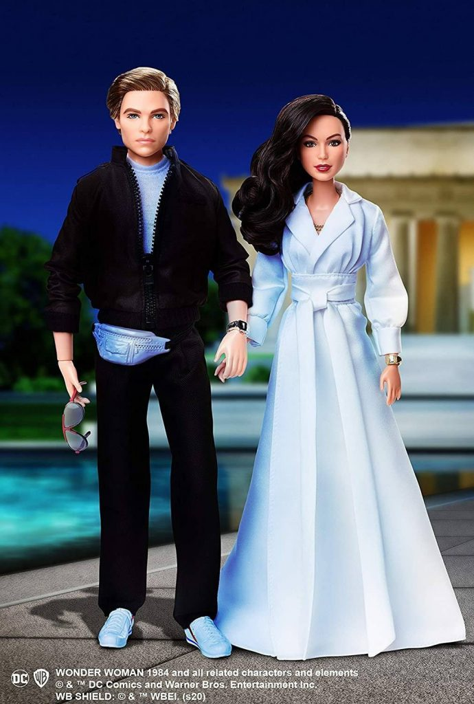 Promo images for the new Barbie and Ken WW 84 movie set