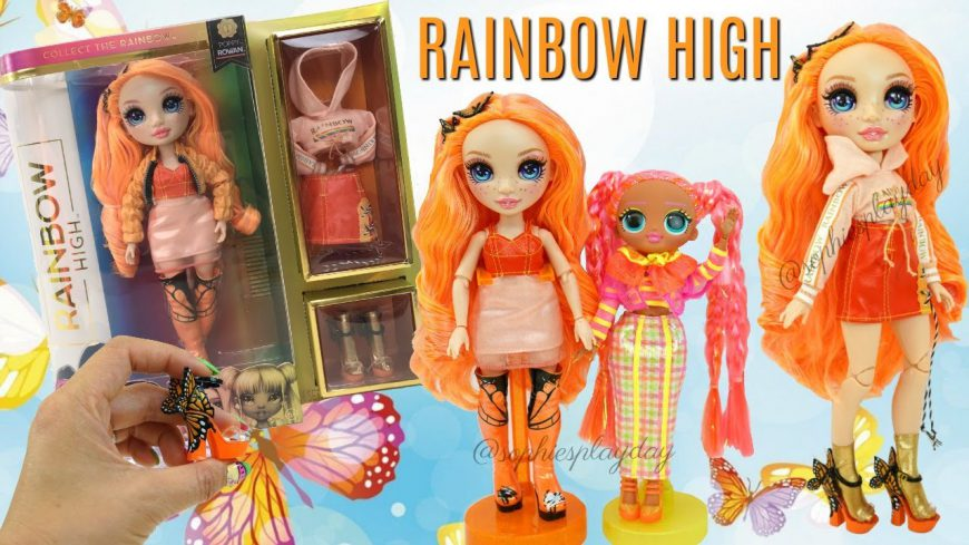 Rainbow High Doll Poppy Unboxing New Poopsie Surprise Fashion Doll