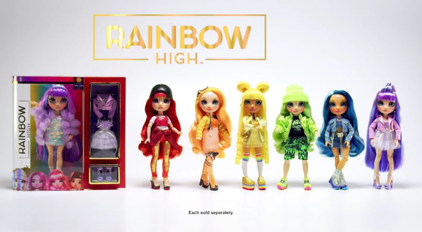 Rainbow High Dolls Commercial