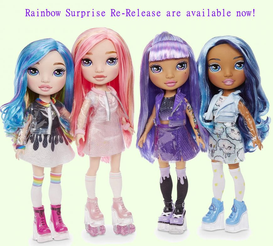 Rainbow Surprise Rainbow High 14-inch Doll