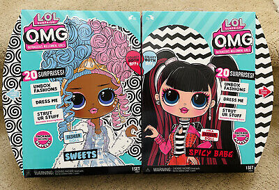 LOL OMG Series 4 dolls from opposite clubs: Sweets and Spicy Babe. Realise date. Where to buy? Price