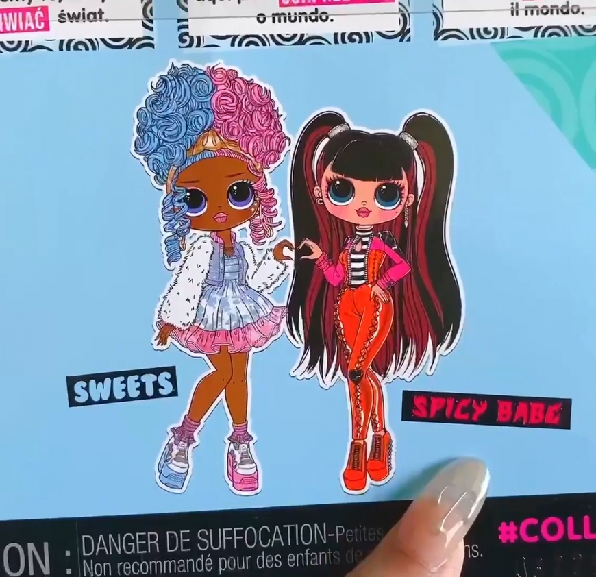 Where to buy? Price? realise date.LOL OMG Series 4 dolls from opposite clubs: Sweets and Spicy Babe.