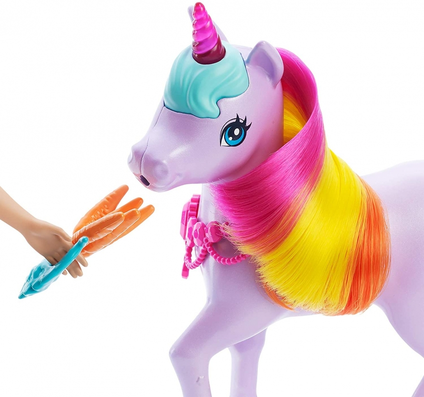 What is the price? Where to buy? Realise date. Barbie Dreamtopia doll with unicorn, Nurturing Playset