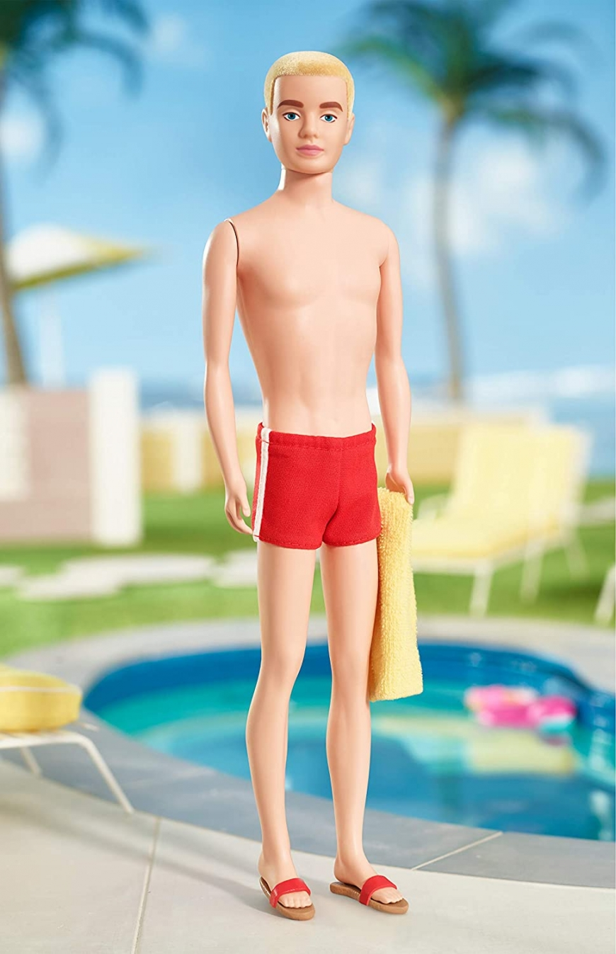Barbie Ken 60th Anniversary Collector silkstone doll. Where to buy? Realise date. What is the price?