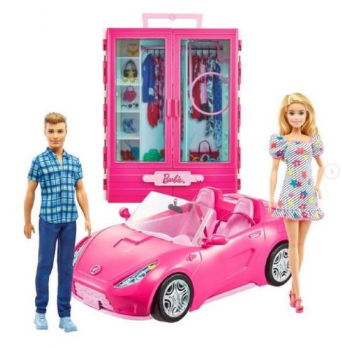 Barbie Dress Up and Go Closet with 2 Dolls Playset and Convertible Car - Where to buy? What is the price? Realise date
