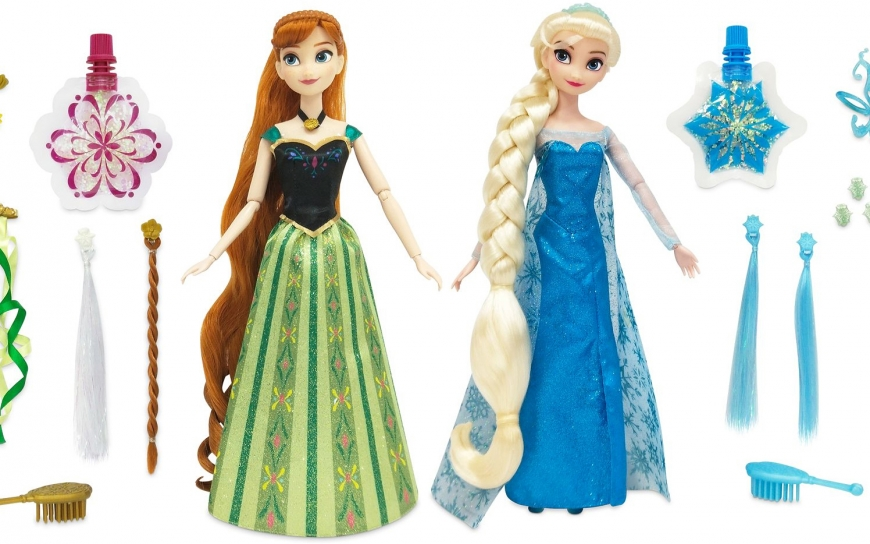 Disney Store Frozen Anna and Elsa Hair Play dolls 2021 Where to buy? How much is the price? Realise date