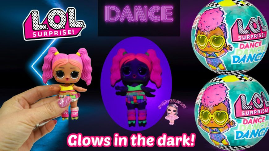 Where to buy? What is the price? Realise date. Video reviewLOL Surprise Dance Dance Dance – second wave of neon light dolls: M.C. Pose, Tempo Q.T. and Bae Wheels